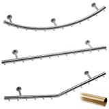 Wurstgehänge in Messing Design matt