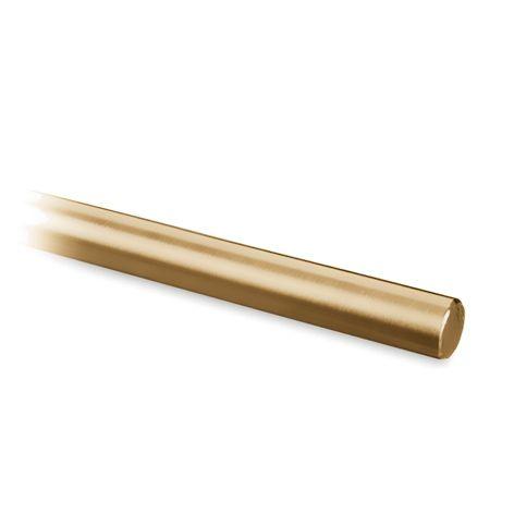 Messing matt Design Stab 6mm - Zuschnitt nach Wunsch