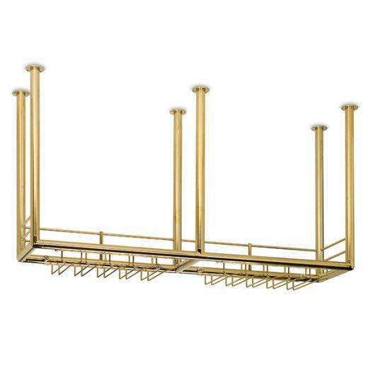 Flaschenbord Messing Design - 22 430 - 2400