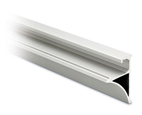 Glasplattenprofil silber matt 50x40 mm - Länge 2,50 m