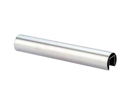 Edelstahl V2A Nutrohr Ø 42,4 mm - Zuschnitt nach Wunsch