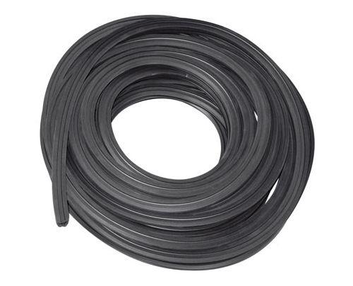 Gummidichtung Nut 10x10 mm - Glasstärke 2,0 - 4,0 mm - 30 m