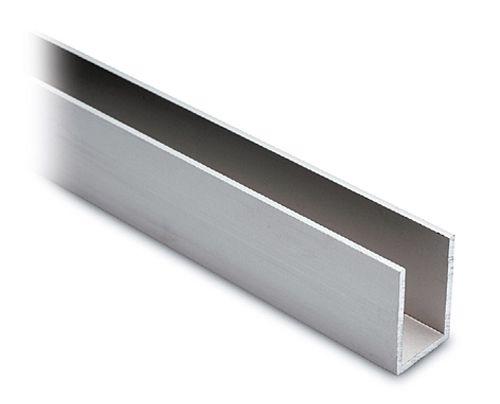 Alu U-Profil 30x20x30mm silber matt eloxiert - Zuschnitt