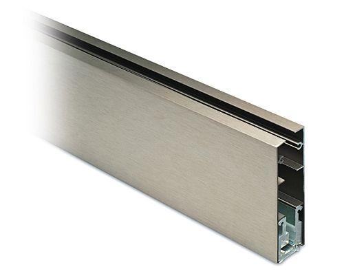 glasprofil 43 edelstahl 107x30 mm g 8 mm l 2 50 m. Black Bedroom Furniture Sets. Home Design Ideas