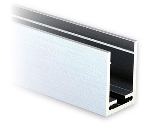 u profil 40x30x40mm aluminium roh l nge 250cm. Black Bedroom Furniture Sets. Home Design Ideas