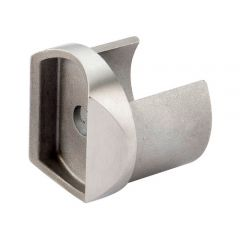 Edelstahl Adapter für Nutrohr Ø 48,3 mm  auf Ø 48,3 mm