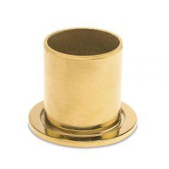 Messing Design Rohr 19,0 mm Rohrbefestigungshülse