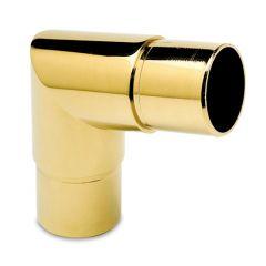 Messing Design Rohrverbinder 80° für Rohr 25,4 mm