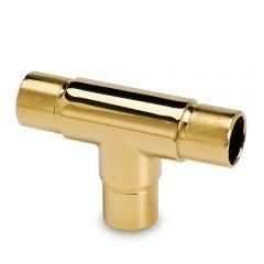 Messing Design Rohrverbinder T für Rohr  25,4 mm