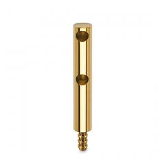 Messing Design MiniRail Endstütze 11656 für Stab 6mm
