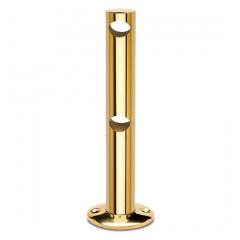 Messing Design MiniRail Mittelstütze 11561 für Stab 10mm