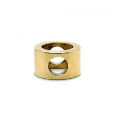 Messing Design MiniRail Adapter Mittelstück für Stab 10mm