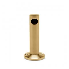 Messing matt Design MiniRail Endstütze 11501 für Stab 10mm