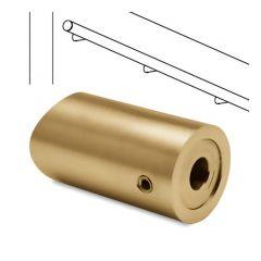 Messing Design  Rohradapter für Rohr  19 mm