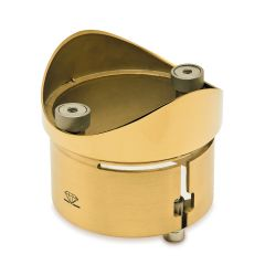 Messing Design  Rohradapter für Rohr  101,6 mm