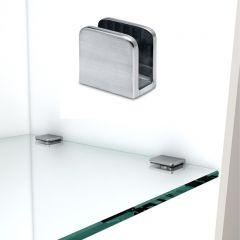 Chrom Design Fusslaufstütze Rohr 50,8 mm 20-0102