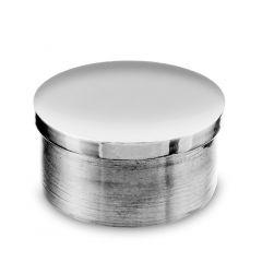 Chrom Design Rohr 50,8 mm Endkappe flach