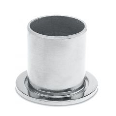 Chrom Design Rohr 25,4 mm Rohrbefestigungshülse
