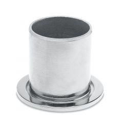 Chrom Design Rohr 50,8 mm Rohrbefestigungshülse