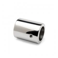 Chrom Design Wandflansch 90° für Rohr Ø 19 mm