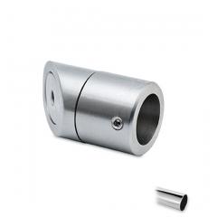 Chrom Design Wandflansch 45° für Rohr Ø 19 mm