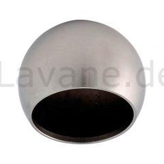 Edelstahl Rohrabschlusskugel für Edelstahlrohr 42,4 mm