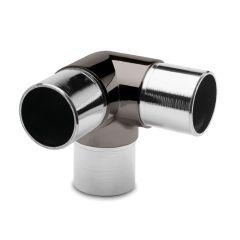 3x90° Rohrverbinder für Rohr 38,1mm Anthrazit Design