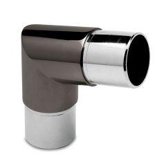 Anthrazit Design Rohrwinkel 80° für Rohr 38,1 mm