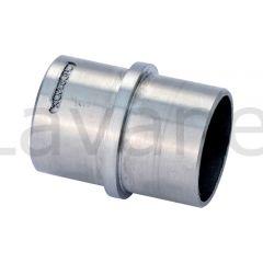 Edelstahl Rohrverbinder für Edelstahlrohr 42,4 mm