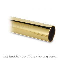 Messing Design Tischfuß 20-620-38 - Rohr Ø 38.1 mm