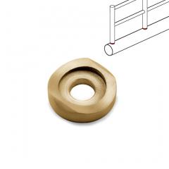 Messing matt Design Mini Rail Adapter 10 mm auf 25.4 mm