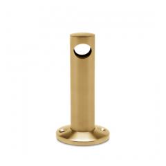 Messing matt Design MiniRail Mittelstütze 11511 für Stab 10mm