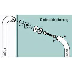 Edelstahl Türgriff Modell 475100 - 25,0 mm - L 300 mm