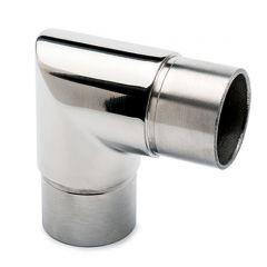 Chrom Design Rohr 38.1 mm Rohrwinkel 90°