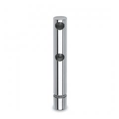 Chrom Design MiniRail Endstütze 11856 für Stab 6mm
