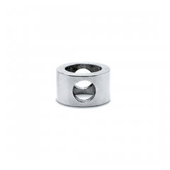 Chrom Design MiniRail Adapter Mittelstück für Stab 6mm