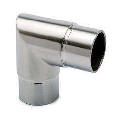 Edelstahl Design Rohr 25,4 mm Rohrwinkel 90°