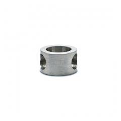 Edelstahl Design MiniRail Adapter 45 Grad für Stab 6mm