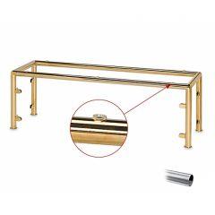 Hustenschutz Gestell 20-010-25 Rohr Ø25.4mm Edelstahl Design