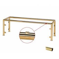 Hustenschutz Gestell 20-010-25 Rohr Ø25.4mm Messing Design