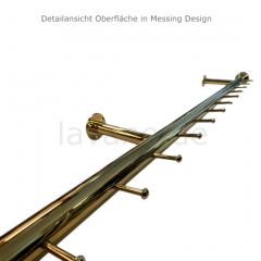 Wurstgehänge 20-7100-125 - Rohr Ø 38.1 mm - Messing Design - 1.250 mm