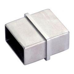 Edelstahl Rohrverbinder Vierkantrohr 40x20 mm