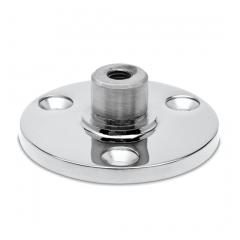Chrom Design Rohr 25,4 mm Innenflansch