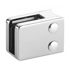 Chrom Design V4A Glasklemme 42 - Rohr 50,1 mm - Glas 6-12.76mm