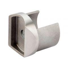 Edelstahl Adapter für Nutrohr Ø 42,4 mm  auf Ø 42,4 mm