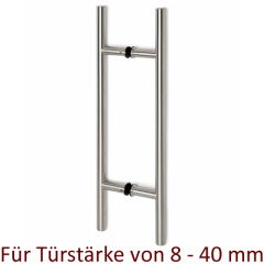 Edelstahl Türgriff Modell 475303 - Griff Ø25mm - Grifflänge 100cm