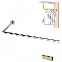 Messing Design Garderobe Modell 20731 - 25,4 mm