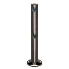 Anthrazit Design MiniRail Endstütze 11551 für Stab 10mm