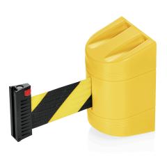 Wand Abgrenzungsband gelb - ECO-W Gurtband SCHWARZ-GELB 2m
