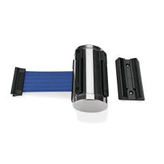 Wand Abgrenzungsband poliert - PRO-W Gurtband BLAU 3m